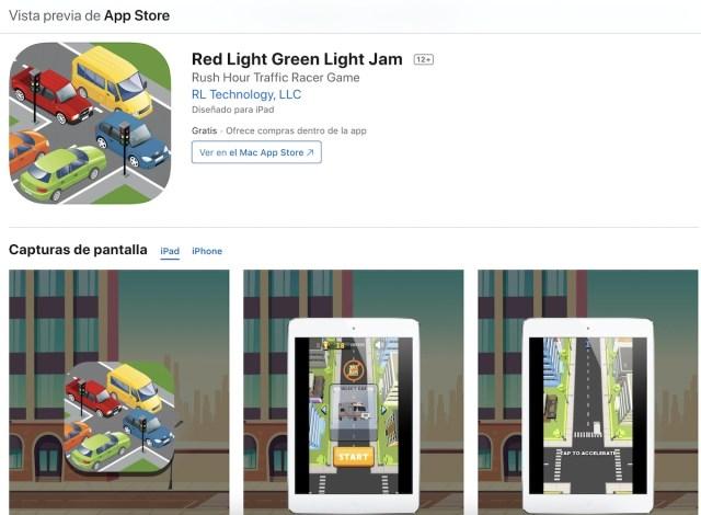 Apps y juegos gratis, Red Light