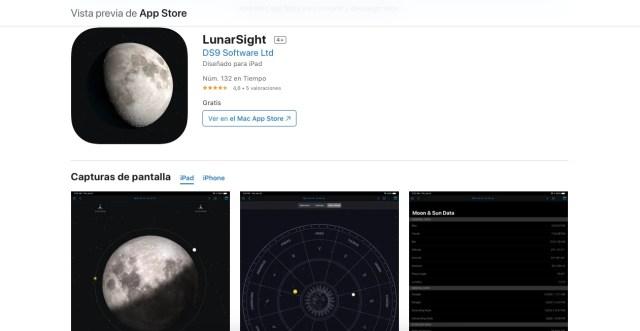 LunarSight, apps y juegos gratis