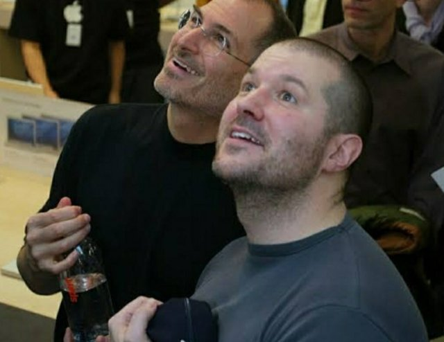 Steve Jobs y Jony Ive