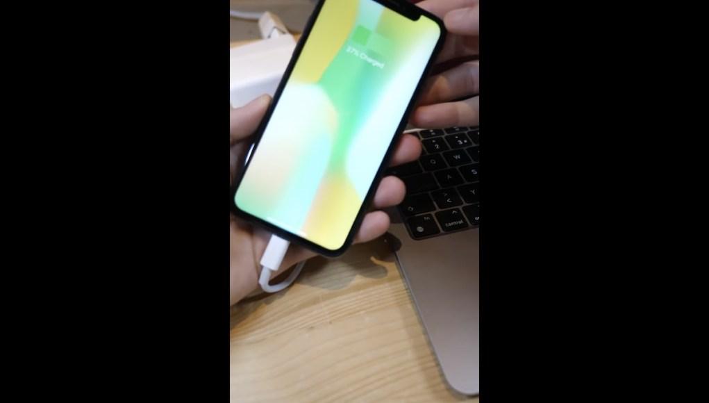 iPhone funcionando con USB-C