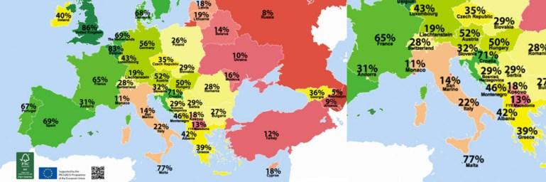 Alcune ricerche sull'omofobia in Italia e nel mondo