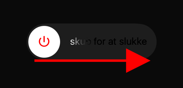 Skub for at slukke