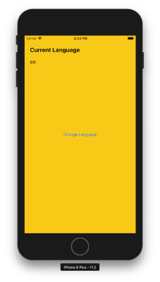 iOS App Localization: Change app language and app design layout from inside of the app without changing device language swift tutorial