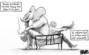 Karwats; Gerrit Rijken; Iosua (2013); olifant