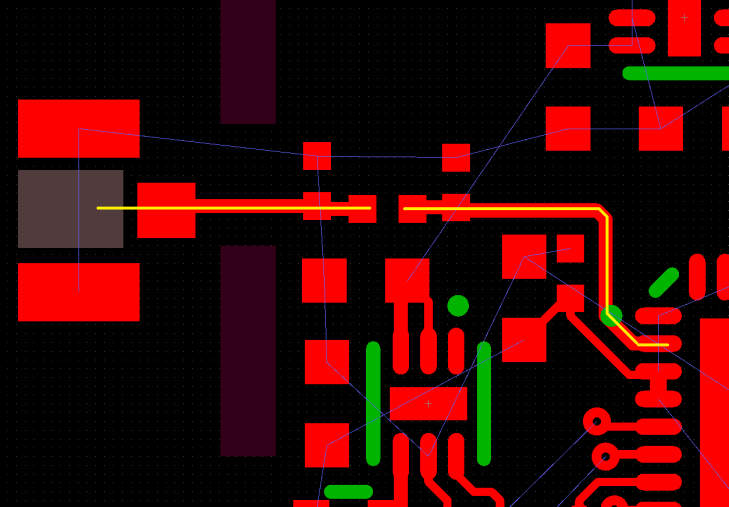 RF PCB layout antenna trace