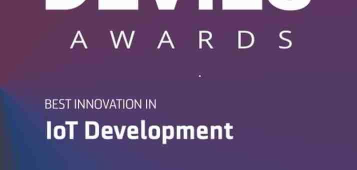 DAVIES award in IoT development