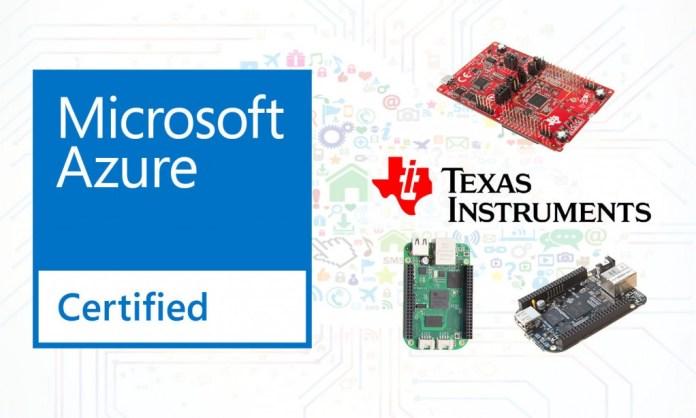 Texas Instruments - MSFT Azure IoT