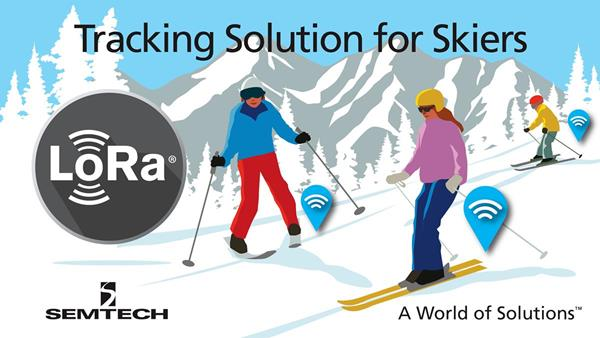 Semtech LoRaWAN Technology Used to Keep Skiers Safe in the Swiss Alps - IoT - Internet of Things