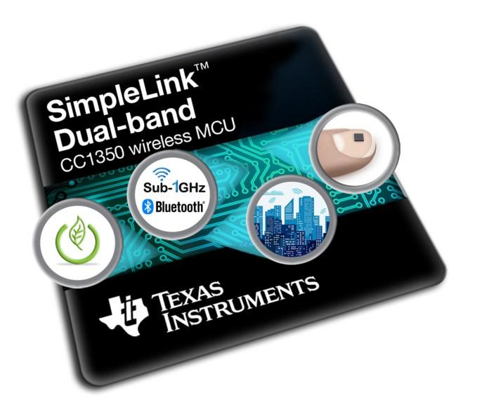 SimpleLink Dual Band CC1350 Wireless MCU