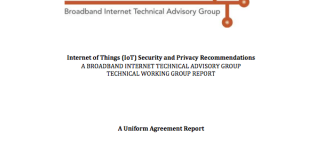 BITAG Internet of Things (IoT) Security and Privacy Recommendations
