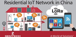 Semtech Residential IoT Network in China