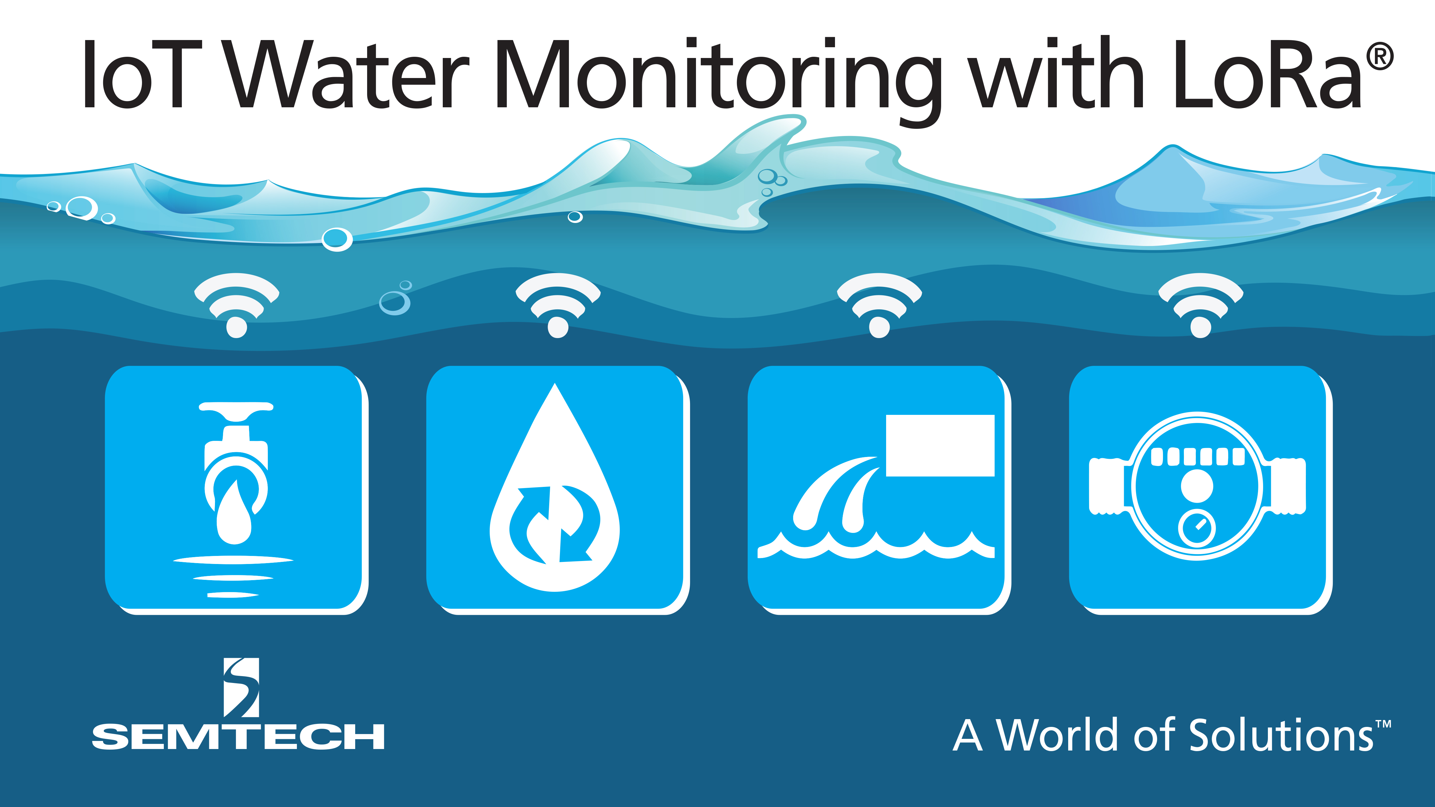 Semtech Lora Technology Used By Trimble For Iot Water