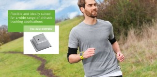 Bosch launches smallest high performance barometric pressure sensor at CES 2017