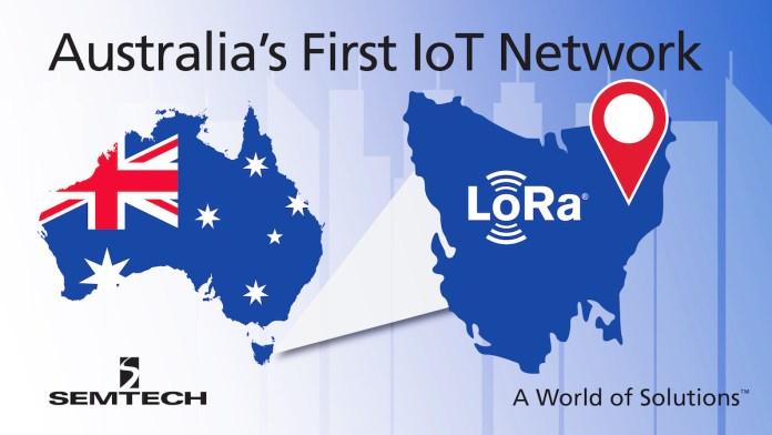 Semtech LoRa Australia IoT Network