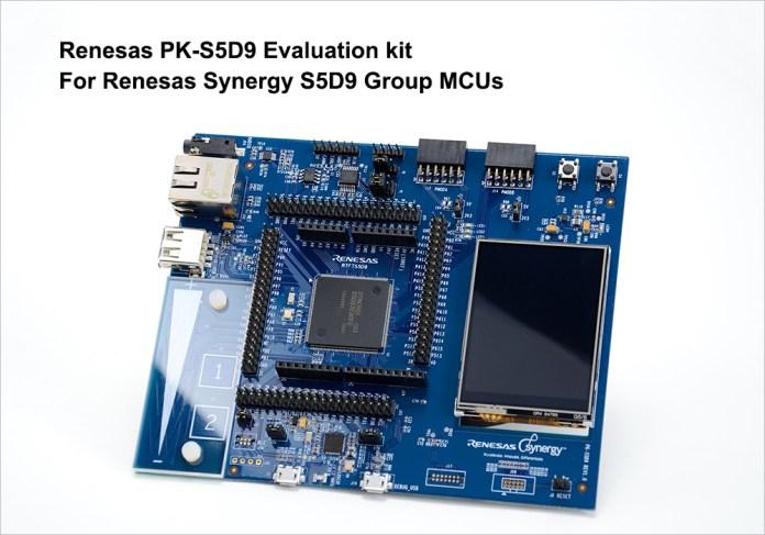 Renesas PK-S5D9 Evaluation Kit