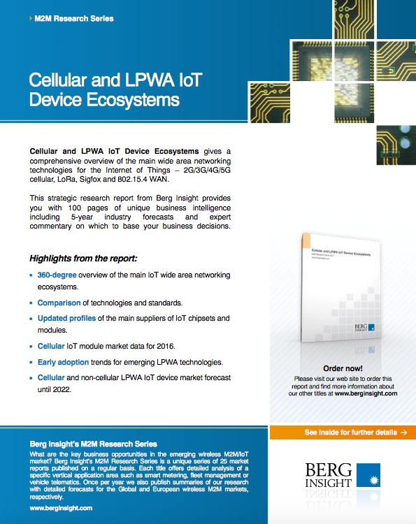 Cellular and LPWA IoT Device Ecosystems