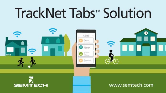 TrackNet Tabs Semtech LoRaWAN