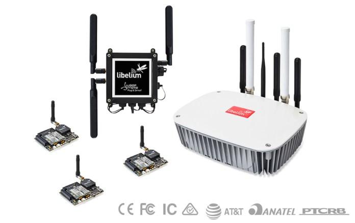 Libelium 4G IoT solution