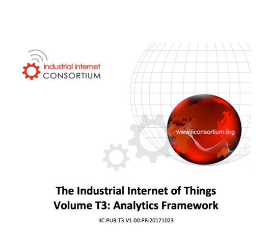 Industrial Internet Consortium Analytics Framework