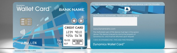 Dynamics Wallet Card