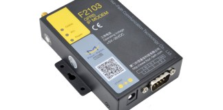F2103 FCC industrial modbus 3G modem