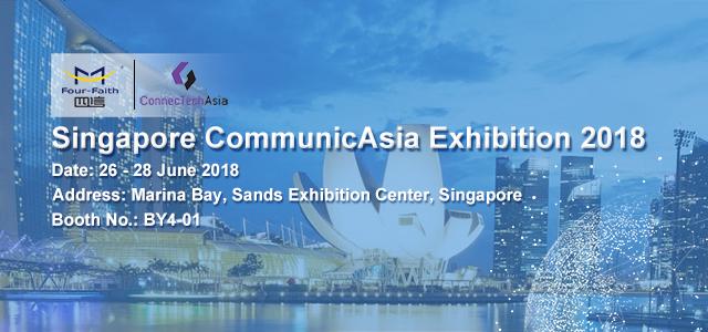 Singapore CommunicAsia 2018