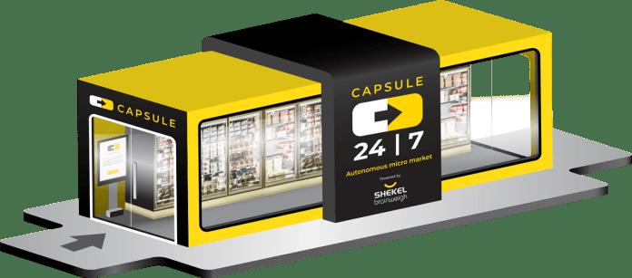 Shekel Autonomous Micro Market Capsule