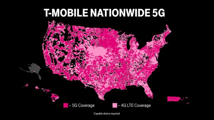 5GNationwide T-mobile