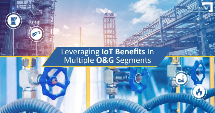 Leveraging IoT Benefits in Multiple O&G Segments