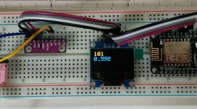 NodeMcu (4) ADS1115 & OLED