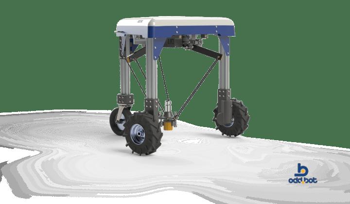 Odd.Bot Weed Whacker autonomous robot