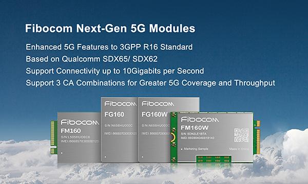 Fibocom FM160 5G module