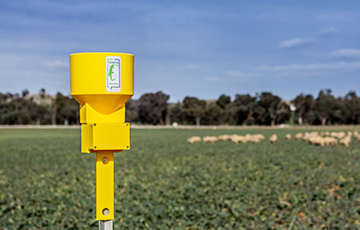 oT satellite network to deliver rainfall data to farmers