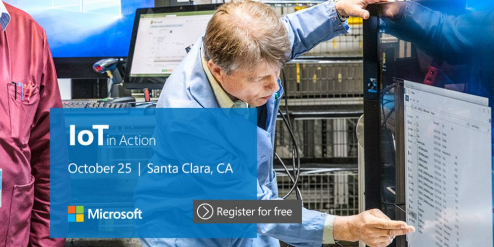 Last chance to register for IoT in Action Santa Clara 2018