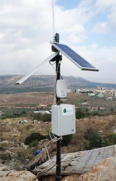 Kerlink IoT-powered Saturas water sensing station