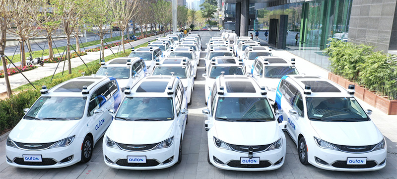 AutoX Puts Fully Driverless RoboTaxis on the Roads in China