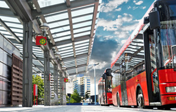 The ITS market for electric buses in Europe and North America to reach € 75 million by 2024