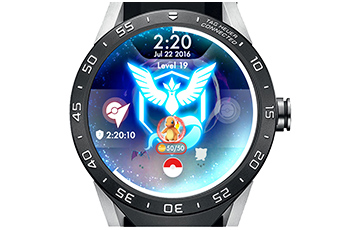 Pokemon Go on smartwatch
