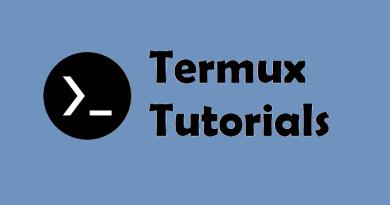 Termux tutorials