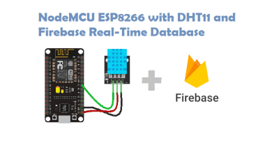 NodeMCU ESP8266 with DHT11