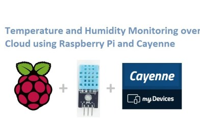 Raspberry Pi and DHT11 with Cayenne
