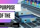 Purpose of Data Management System
