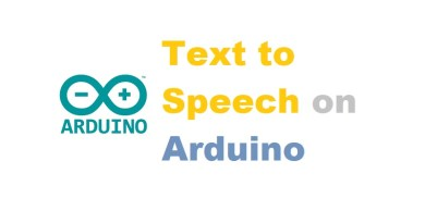 Text to Speech on Arduino