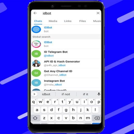 IDBot in Telegram