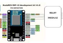 nodemcu ESP 12 development kit