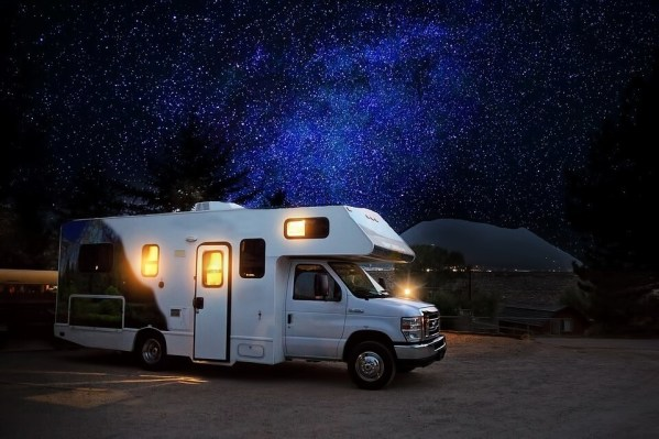 RV powered by solar energy