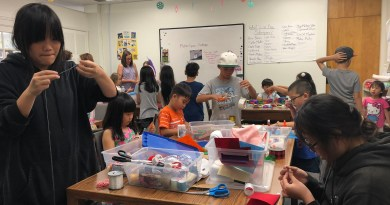 1st day of Summer Program for kids:  Maker Space at Garden Grove Public Library