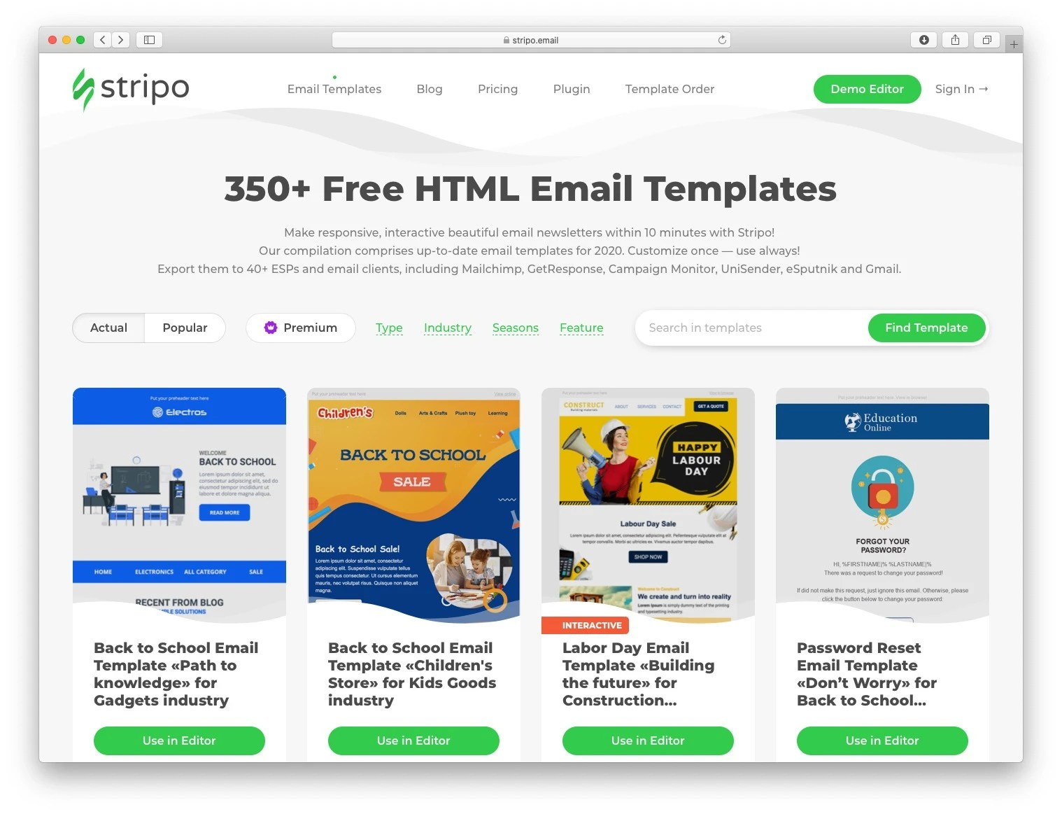 Donna baker published december 10, 2020 donna a. Free Email Newsletter Templates 10 Best Places To Get Them