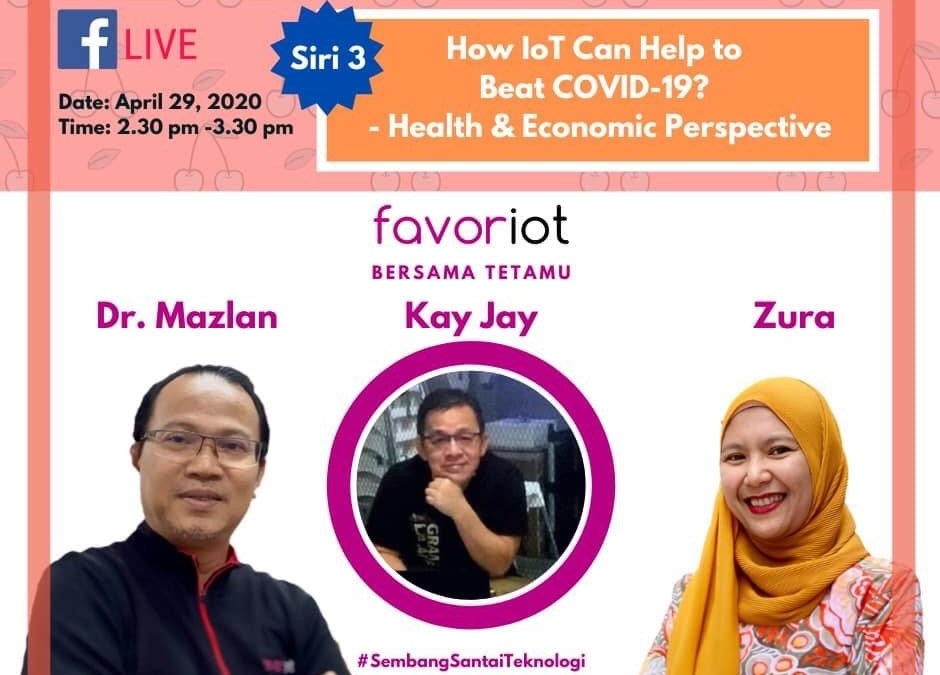 Webinar – How IoT Can Beat Covid-19