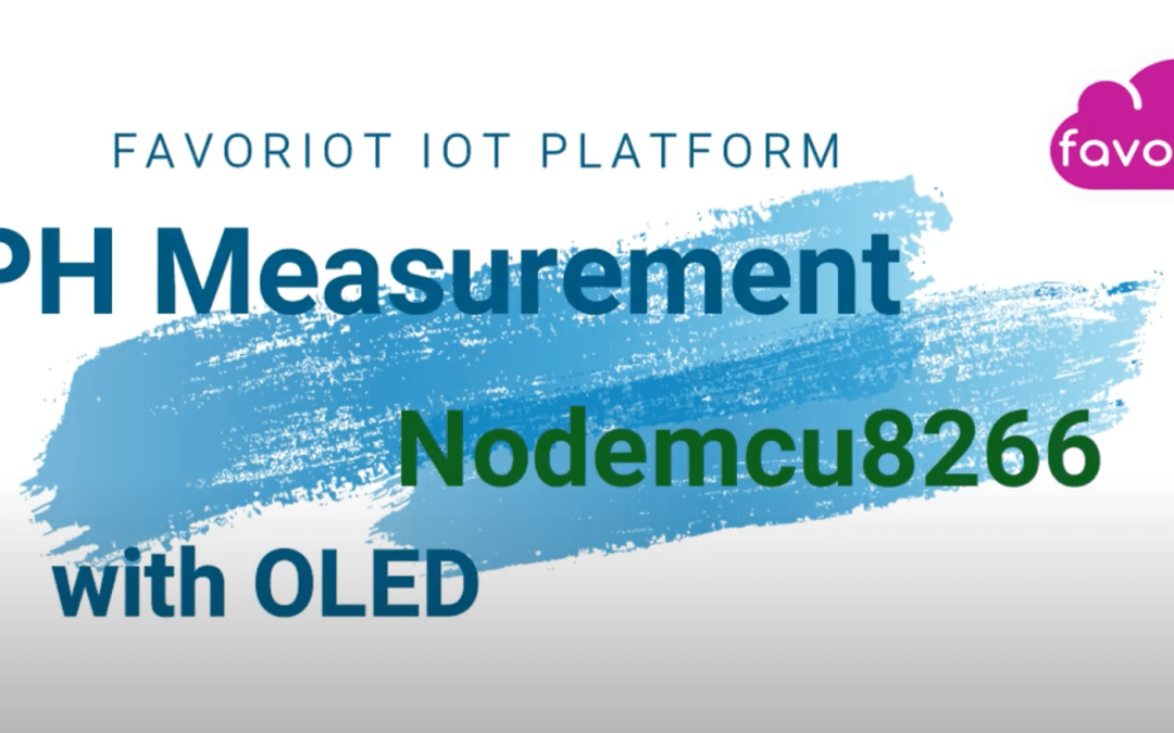 IoT Experiment – pH Sensor Using NODEMCU and OLED Display with Graph Output